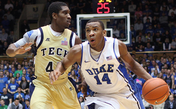 Rasheed Sulaimon bounced back from his January struggles with a 15-point effort against Georgia Tech.