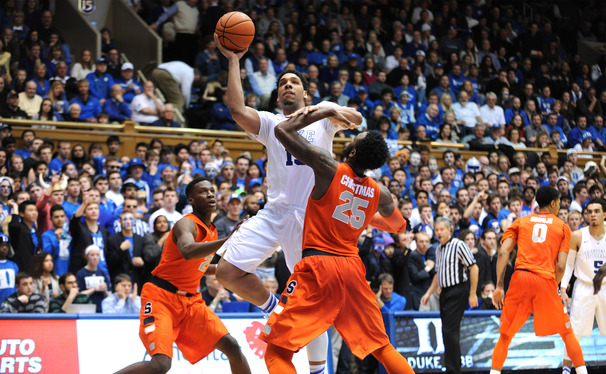 Freshman center Jahlil Okafor continued to struggle from the free throw line Saturday night.