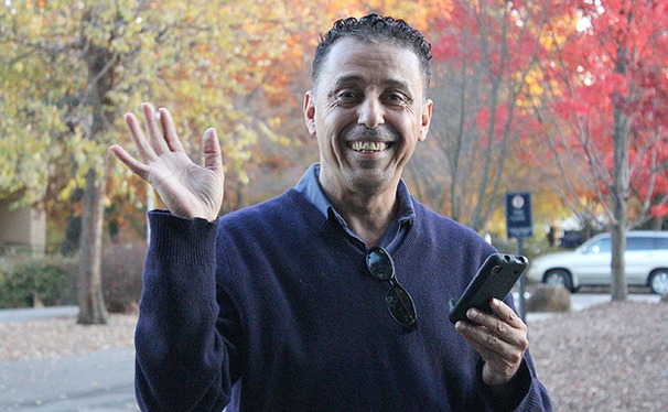 Durham cab driver Fodil Mahjoubi, originally from Algeria, is many students' favorite weekend chauffeur.