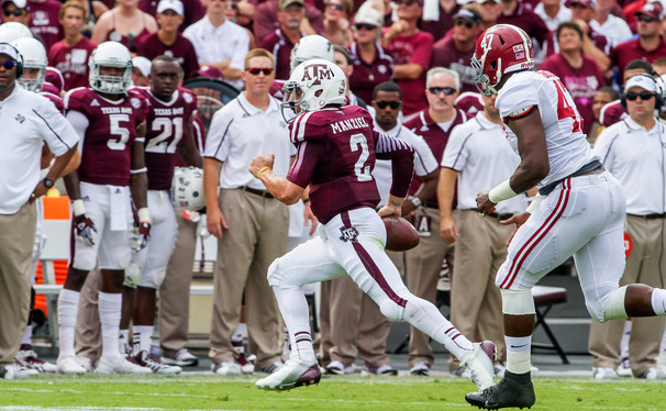 Texas A&M's dynamic offense is led by 2012 Heisman Trophy winner Johnny Manziel, who could be at his most dangerous when making plays on the run.