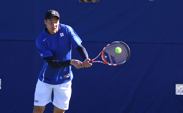 No. 13 Duke has won four straight matches, all of them coming with Jason Tahir in the No. 1 singles slot after the team was forced to juggle its lineup.