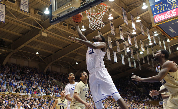 Junior captain Amile Jefferson could give the Blue Devils a big boost in their Elite Eight tilt against a bigger Gonzaga frontline Sunday afternoon.