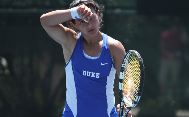 Senior Hanna Mar could not pull off another heroic comeback as the Blue Devils fell to Virginia in the ACC Championship finals.