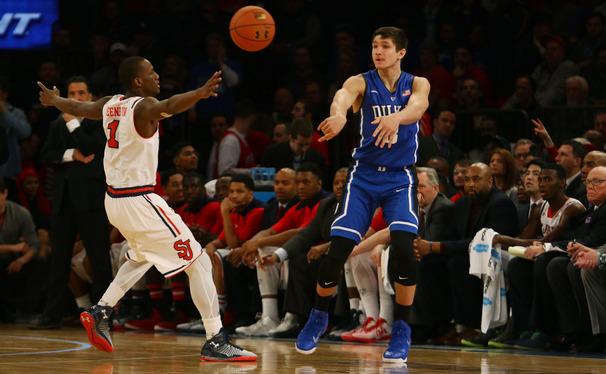 Freshman Grayson Allen has played just 17 minutes in ACC games this year but could be a difference-maker thanks to the dismissal of Rasheed Sulaimon.