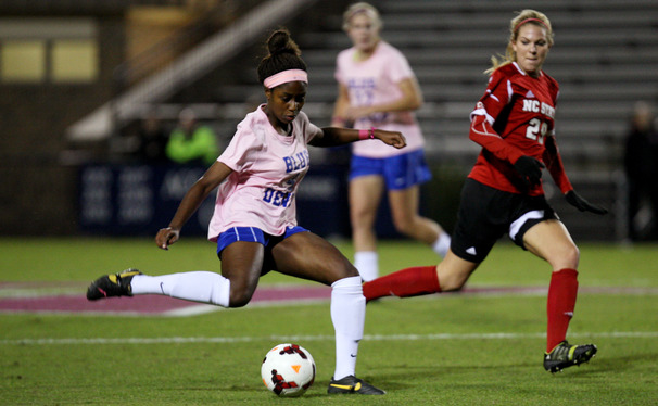 The Boston Breakers of the National Women's Soccer League selected Duke senior Natasha Anasi with the 13th pick in the draft Friday and later drafted her teammates Mollie Pathman and Kim DeCesare.