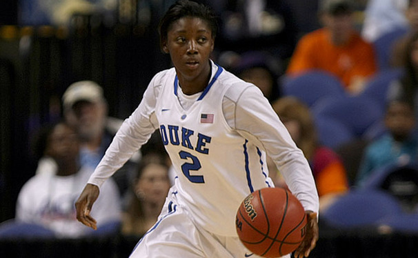 Alexis Jones is just the third freshman to secure MVP honors at the ACC Tournament.