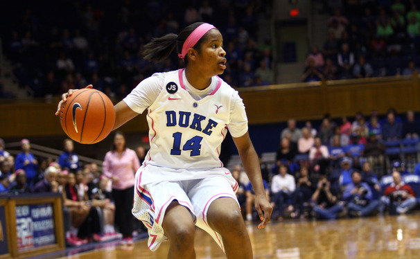 Junior guard Ka'lia Johnson will step into a larger role as the Blue Devil backcourt continues to be decimated by injuries.