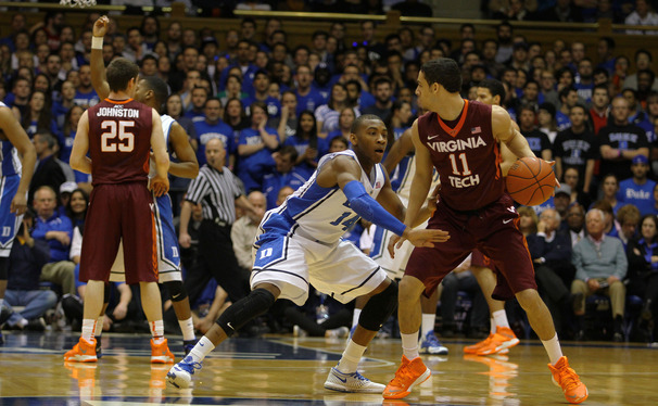 Rasheed Sulaimon's on-ball defense in the past five games has helped stifle Duke's 	opponents and will be a key to a second win against Wake Forest.