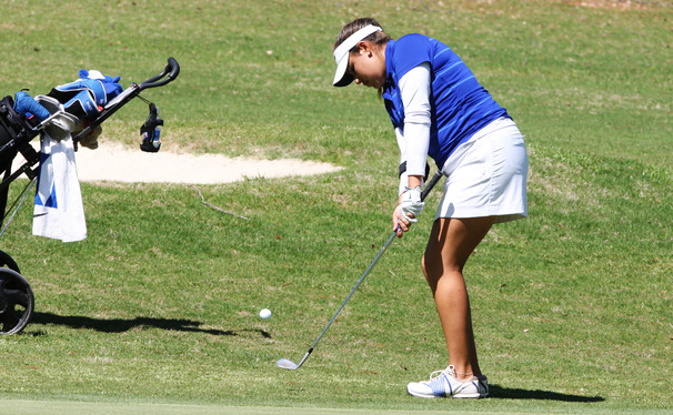 Senior Alejandra Cangrejo posted scores of 71 and 72 in the first two days but fell back to a three-over-par finish after registering a 76 in her final round.
