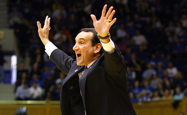 Duke basketball head coach Mike Krzyzewski said he is unsure of the future of the ACC/Big Ten Challenge.