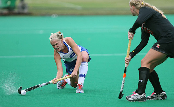 Emmie Le Marchand earned All-ACC honors and led the Blue Devils with 11 goals this season.