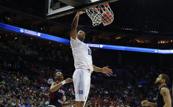 Freshman center Jahlil Okafor earns Player of the Week honors again after a dominant first week of the NCAA tournament.