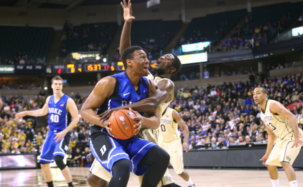 Jabari Parker scored 19 points and 10 rebounds against Wake Forest, but it was his foul trouble that ultimately told the story.