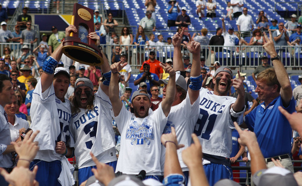 Head coach John Danowski has led his team to back-to-back titles and three in the past five years.
