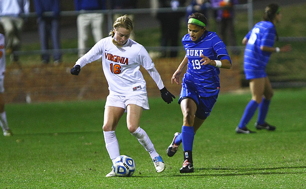 With 16 goals apiece, Kim DeCesare, pictured, and Laura Weinberg form the nation's highest-scoring duo.