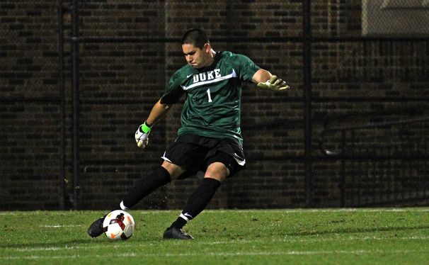 Duke goalkeeper Alex Long recorded a career-high 10 saves to earn his fourth shutout of the year as the Blue Devils finished with their second straight tie.
