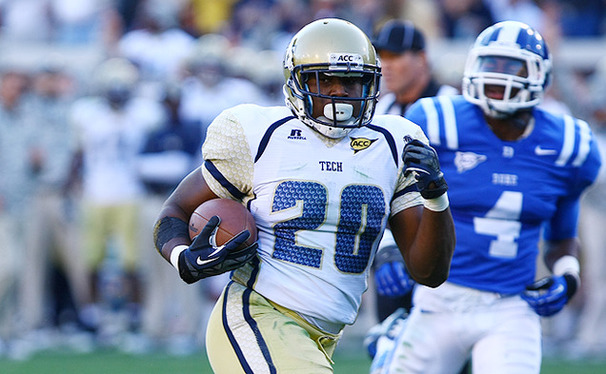Georgia Tech running back David Sims ran for 70 yards on 11 carries as the Yellow Jackets tallied 330 yards on the ground.