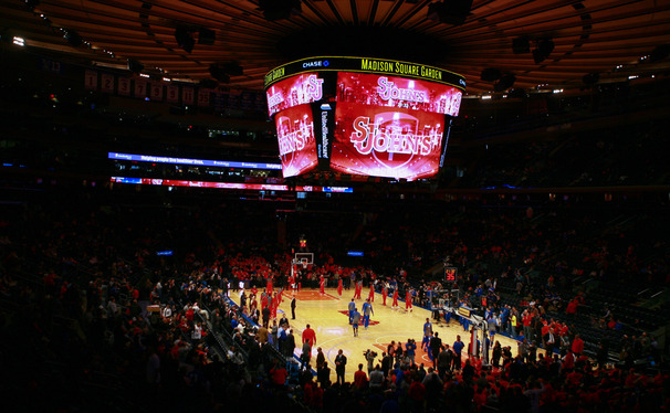 The World's Most Famous Arena brought out Duke's best late in Sunday's battle between the Blue Devils and St. John's.