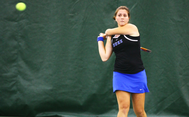 Ester Goldfeld returned from injury, but Duke struggled at the Fab Four Invitational.