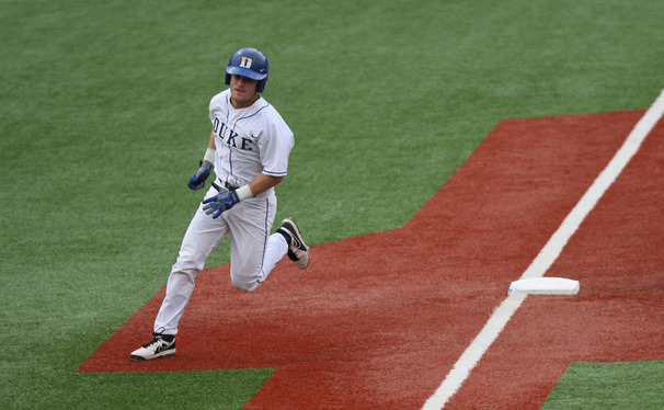 Mike Rosenfeld knocked in three runs against the Eagles as part of Duke's offensive explosion Tuesday.