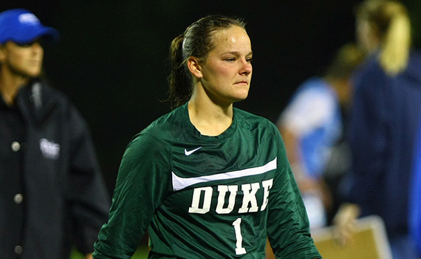 Duke's defense will look different next year without senior Tara Campbell in goal.