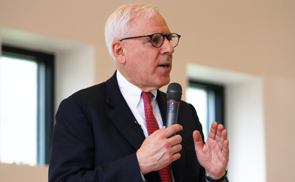 David Rubenstein spoke about his next philanthropic goals.