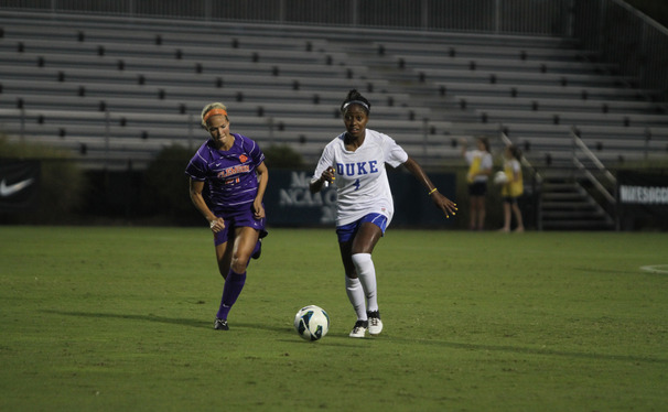 Senior Natasha Anasi is Duke's lone defender who was a member of their 2011 team that lost to Stanford in the national championship game.