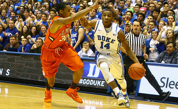 Freshman Rasheed Sulaimon did not start against Georgia Tech last week, but will play against the Hurricanes Wednesday.
