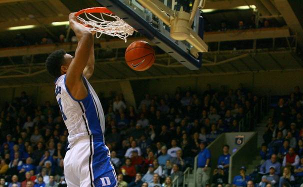 Jabari Parker led all scorers with 21 points as Duke sprinted past Gardner-Webb 85-66 Monday night at Cameron Indoor Stadium.