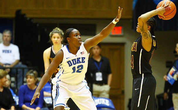 Junior point guard Chelsea Gray leads the Blue Devils with the best assist-to-turnover ratio in the nation.
