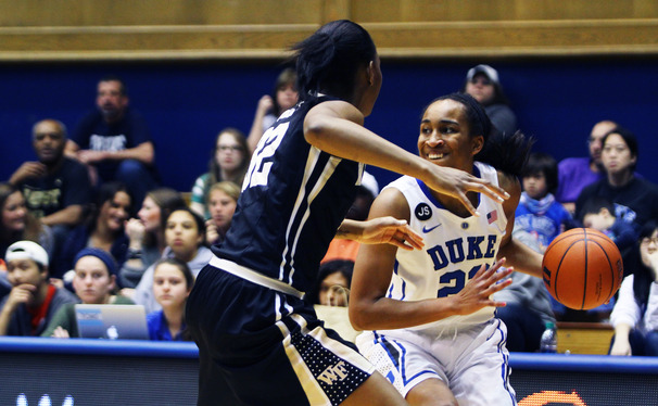 Oderah Chidom joined the seniors with a big statline in the box score, racking up nine points and 12 boards—including eight off the offensive glass.