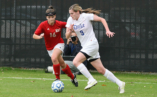 Mollie Pathman and Kelly Cobb (pictured) have missed the start of the Duke season while playing in the 2012 FIFA U-20 Women's World Cup in Japan.