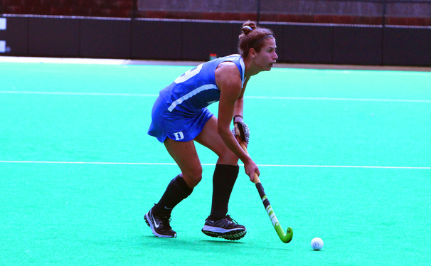Cherry Seaborn was one of six Blue Devils to score Sunday against Radford.