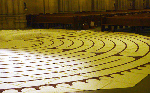 On Tuesday March 5, members of the community can walk the path of the Duke Chapel labyrinth. The 40-ft. circle's journey, meant for contemplation and reflection, takes 30 minutes to one hour.