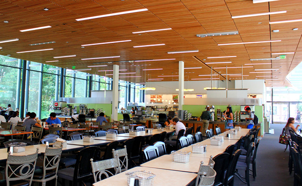 Duke Dining's goal for the Pavilion is to serve 2,000 people per day.