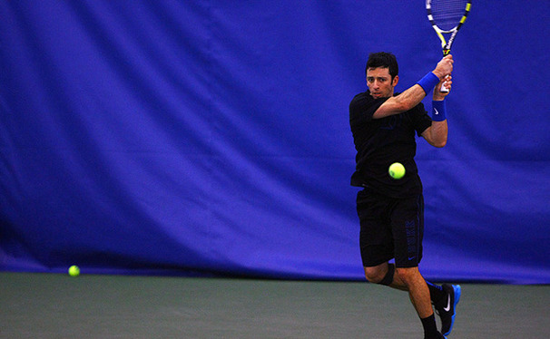 No. 11 Henrique Cuhna is seven wins away from becoming Duke's all-time leader in career singles victories.