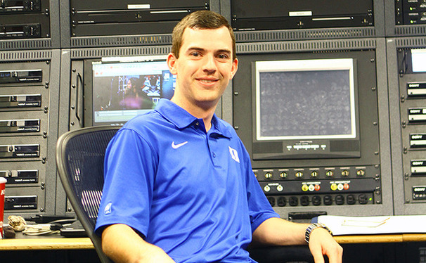 Duke alumnus Kevin Cullen now works as Duke Basketball's video coordinator, and scouts each upcoming opponent.