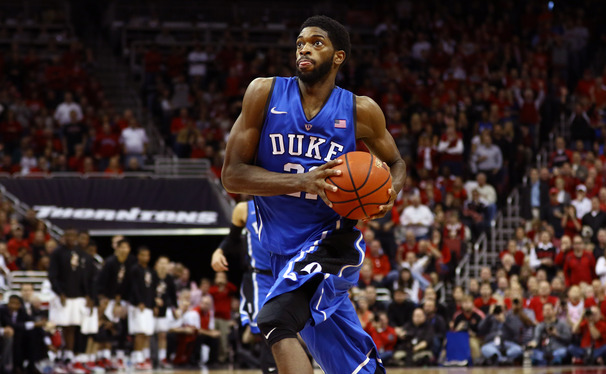 Captain Amile Jefferson met with the media and gave his thoughts about No. 5 Duke's upcoming matchup with St. John's.