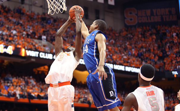 Foul trouble has been burdensome for Duke in many of the Blue Devils' losses this year, including a Feb. 1 road loss to Syracuse in which three players fouled out.