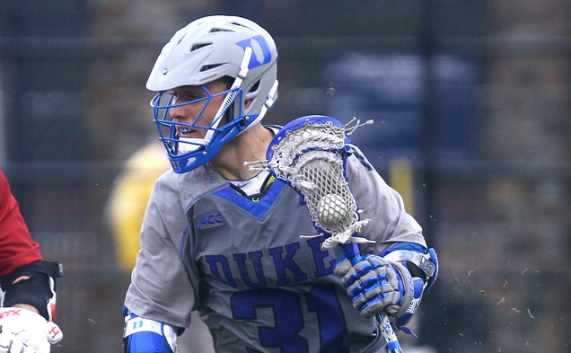 With 40 goals on the season, senior attack Jordan Wolf will lead the Blue Devils into a matchup with Rutgers.