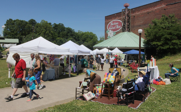 Once a vacant lot, Durham Central Park is now a hub for community events and a model for public parks run by nonprofit organizations.