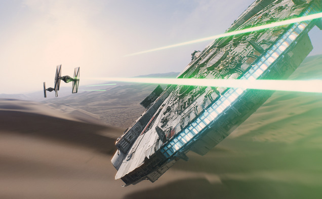 Star Wars: Episode VII The Force Awakens Special to The Chronicle