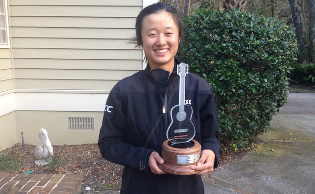 Freshman Yu Liu captured the individual title as the Blue Devils took first place at the Darius Rucker Intercollegiate.