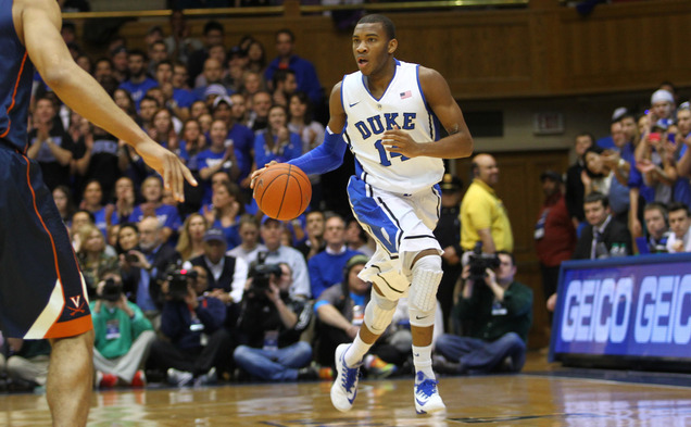 Fresh off a 21-point performance against Virginia, sophomore Rasheed Sulaimon will look to continue his recent hot streak against N.C. State.