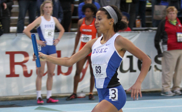 Duke finished in the top 10 in three relay events this weekend at the prestigious Penn Relays.