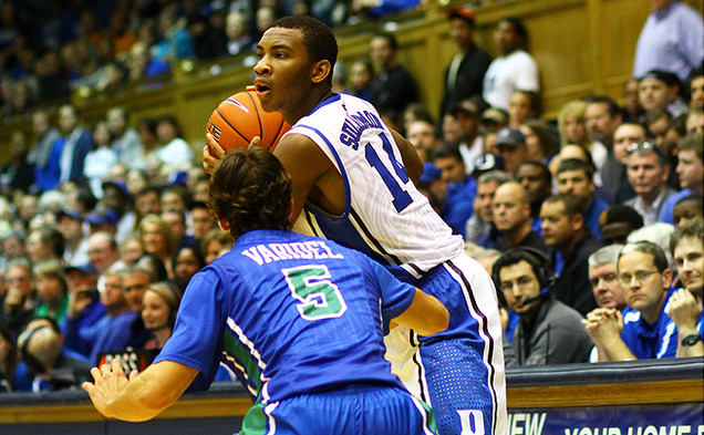 Freshman guard Rasheed Sulaimon finished second on the team with 19 points, going 5-of-12 from the field and 6-of-6 from the line.