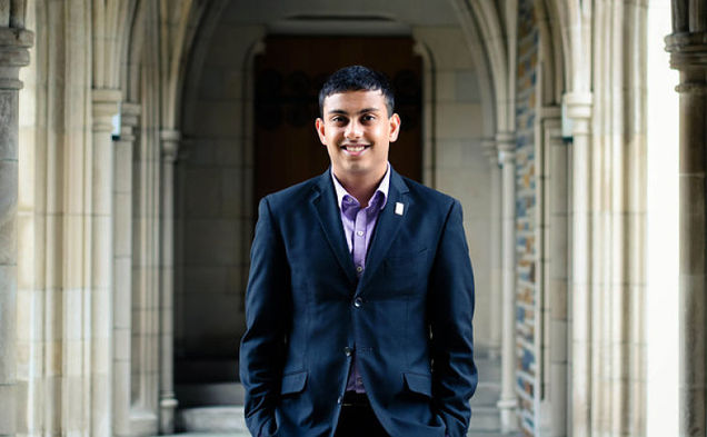 Junior Abhi Sanka will work to enact his vision as this year's Duke Student Government executive vice president.