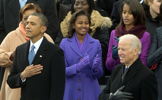 Barack Obama was inaugurated for his second term as America's first black president.