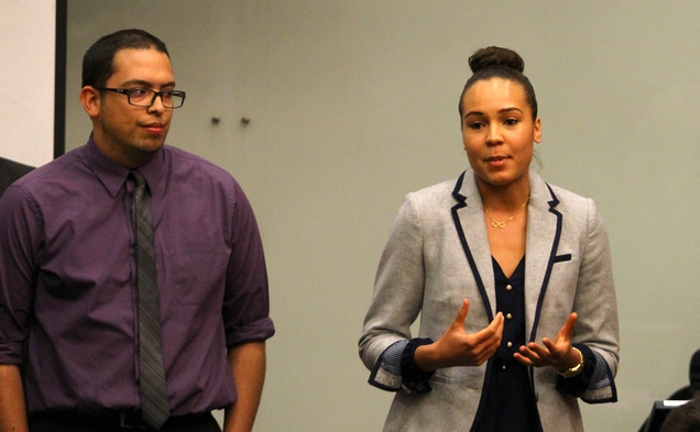AccessDuke presented an initiative to change University policies regarding undocumented students at the DSG meeting.