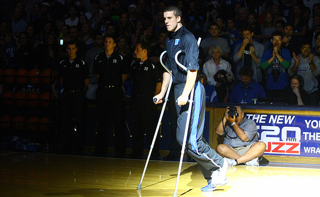 Marshall Plumlee's humor has made him the star of Duke Blue Planet, a website that features the lighter side of the men's basketball team.